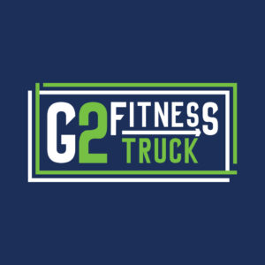 Logo G2 Fitness Truck criado pela Inout Marketing Digital em Piracicaba