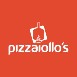 Logo Pizzaiollos criado pela Inout Marketing Digital em Piracicaba